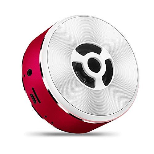 AZZ Kabellose Tragbare Bluetooth 4.2-Lautsprecher Boxen Mit Mega-Bass (Color : Red)