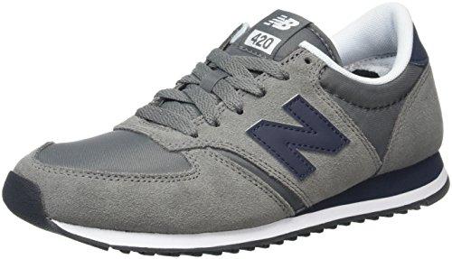 New Balance Unisex-Erwachsene 420 Laufschuhe, Mehrfarbig (Grey/Bluegrey/Blue), 36 EU