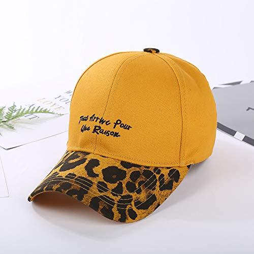 Stickerei Baseball Cap Cap Outdoor-Reisen mit dem Trend der Sonnencreme gelben Code