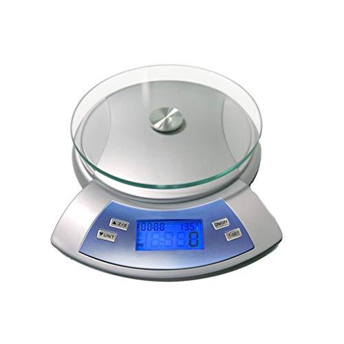 Digitale personenweegschaal, elektronische kookladder, hoogwaardige levensmiddelenkala, professionele keukenladder, van roestvrij staal met lettertype