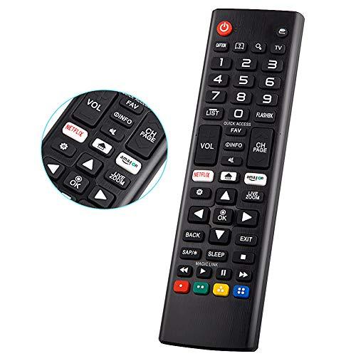 YOSUN - Mando a distancia universal para LG Smart TV remoto todos LG LCD LED 3D HDTV Smart TVs AKB75095307