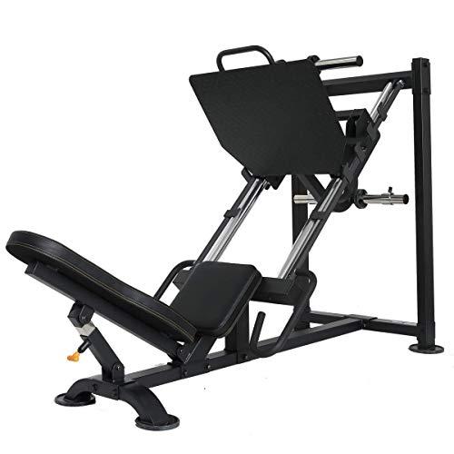 POWERTEC Leg Press, Black
