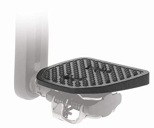 PP Pedal Plate | Adapter | Kompatibel mit Shimano SPD MTB und Look X-Track Klickpedale | Keine Shuhplatten benotigt