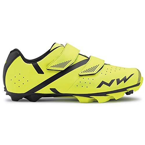 Northwave Spike 2 Chaussures de vélo VTT Jaune/noir 2021 Taille 45,5