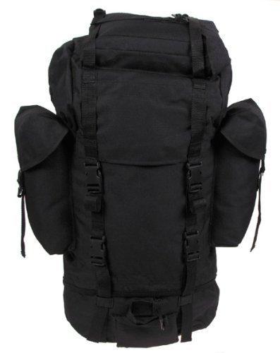 BW sac de la bundeswehr (armée allemande-noir-grand modèle-nylon