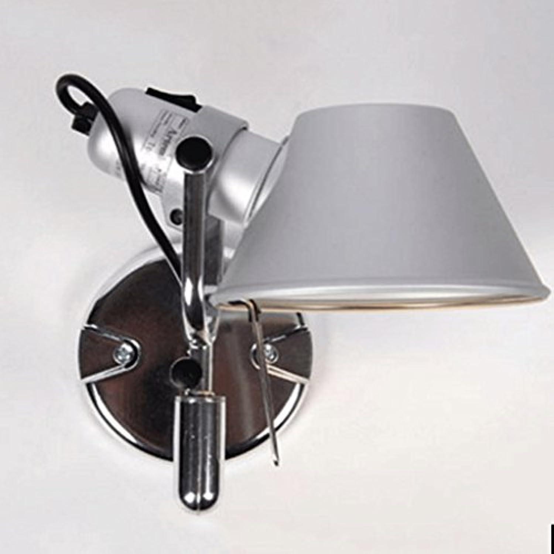 NJ Wandlampe- Aluminium-LED-Wandleuchten Schlafzimmer Studie Nachttischlampen