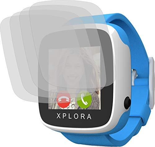 4ProTec I 4X ANTIREFLEX matt Schutzfolie für Xplora Go Bildschirmschutzfolie Displayschutzfolie Schutzhülle Bildschirmschutz Bildschirmfolie Folie