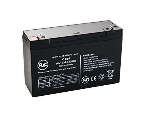 Batterie Injusa Power Cart 6V 12Ah Scooter - Ce Produit est Un Article de Remplacement de la Marque AJC®