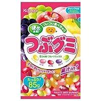 春日井製菓 つぶグミ 85g×6袋入×(2ケース)