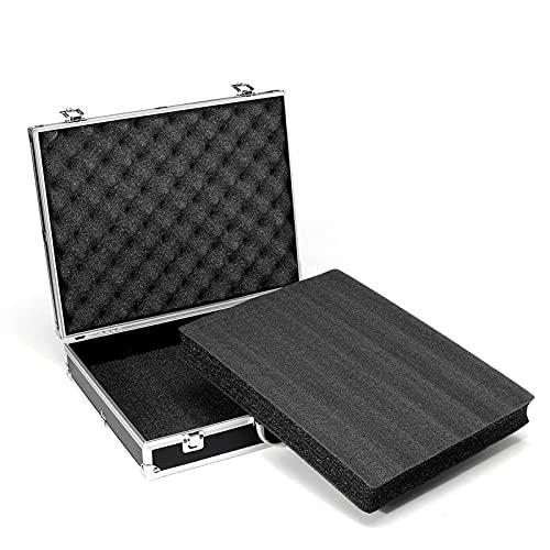 PPLAS Cassa degli Attrezzi in Alluminio Attrezzature per la Sicurezza Portatile Caso di Sicurezza Suitcase Multifunzione Profilo Toolbox Contenitore Hardware con Schiuma (Color : D)