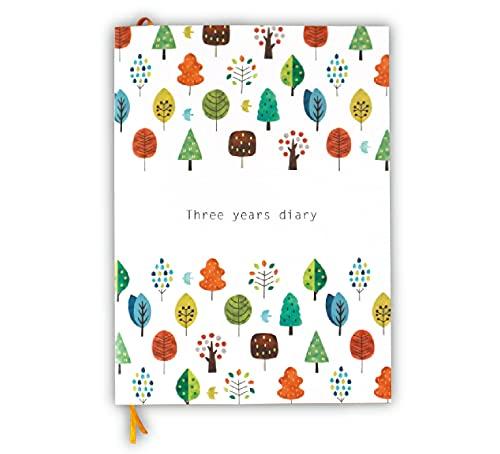 ノートライフ 日記帳 3年日記 B5 日本製 ソフトカバー 日付け表示あり (いつからでも始められる)しおり付き