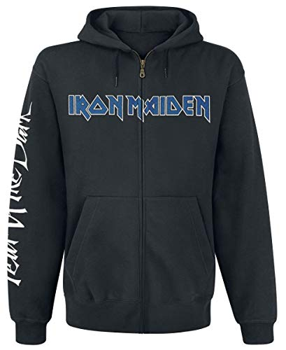 Iron Maiden Fear of The Dark Uomo Felpa Jogging Nero M 80% Cotone, 20% Poliestere Regular