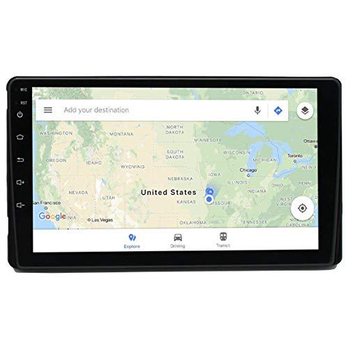 Sistema De Navegación GPS para Camión,Car Stereo GPS Navigation Receptor De Medios Digitales,con Bluetooth Y Actualizaciones De Mapas De Europa,Aplicar para Toyota T