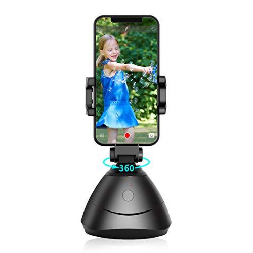 ENCOMAG Selfie-Stabilisator, Smartphone-Halterung für Selfie, Kompaktkamera mit 360° Drehung, Gimbal Smartphone mit automatischer Tracking, Gesicht und Objekte