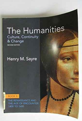 The Humanities: Book 3 (The Humanities: Culture, Continuity & Change Second edition)
