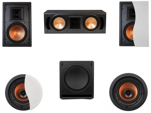 Review Of Klipsch R-3650-WII In-Wall System #13