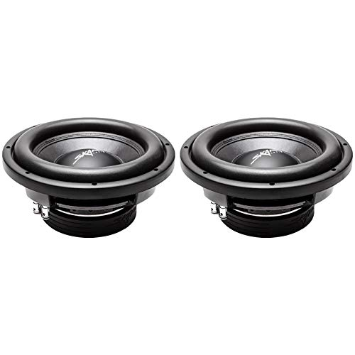 "(2) Skar Audio VD-10 D4 10"" 800W Max Power Dual 4 Ohm Shallow Mount Subwoofers, Pair of 2"