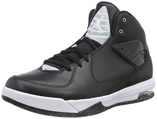 Nike Herren Jordan Air Incline Basketballschuhe, Schwarz (Black/White-Grey Mist 010), 46 EU