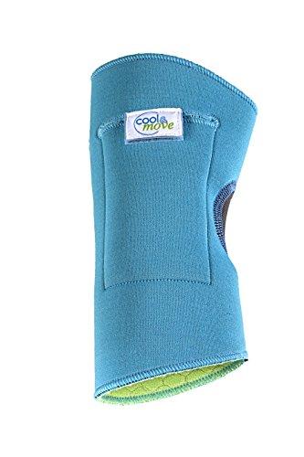 cool&move Ellenbogen Bandage S, inkl. Kalt- / Warm-Kompressen, bei Sportverletzung und Gelenkschmerz