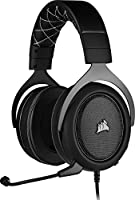 CORSAIR CA-9011213-EU HS60 PRO SURROUND 7.1 HARICI SES KARTLI OYUNCU KULAKLIGI SIYAH (PC PS4 XBOX ONE NINTENDO SWITCH...