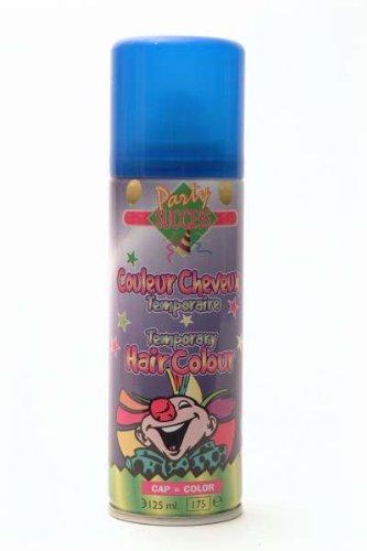 Bombe Laque à cheveux fluo couleur bleu - 125 ml