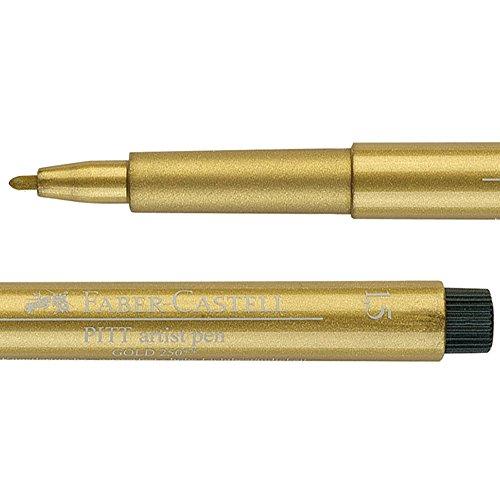 Preisvergleich Produktbild Faber Castell : Pitt : Artist Pen : Gold