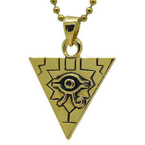 Eye of Horus Ra illuminati Millennium Puzzle Yu-Gi-Oh Yugioh Pewter pendant