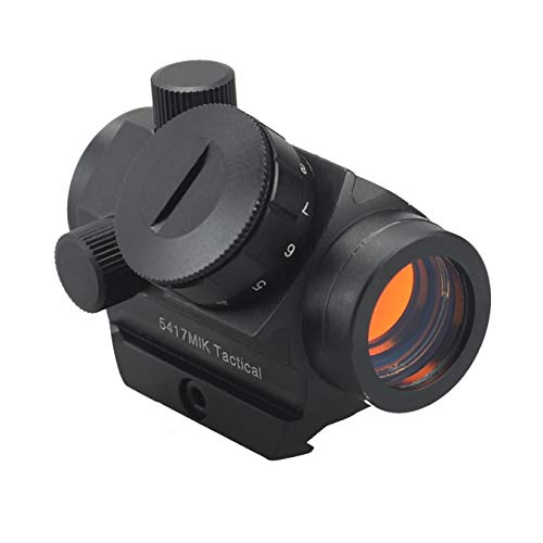 AWOTAC Tactical Red Dot Sight Reflex Scope Sturdy Durable Construction Waterproof & Shockproof Gun Sight with 11 Brightness Adjustments Compatible with Pistols, Shotguns, Rifles