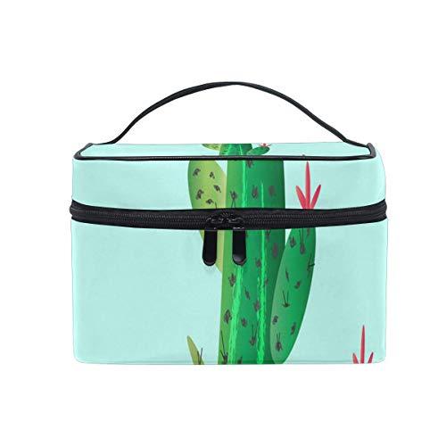 Cartoon Cosmetic Flower Cosmetic Bag Portable Grand Trousse de Toilette pour Femmes/Filles Travel Makeup Bag