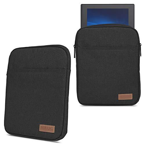 NAmobile - Custodia protettiva compatibile per Lenovo IdeaPad Duet Chromebook 2 in 1, custodia protettiva per tablet da 10,1 pollici, colore: Nero