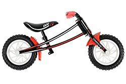"""Boys 10"""" Wheel Balance Bike 10"""" Mag Wheels With Puncture Proof Tyres Reversible Frame Which Can Be Flipped To Grow With Your Child Comfy Ergonomic Grips Padded Saddle With Full Colour Print"""