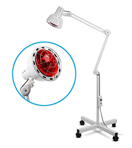 Boston Technology WE-108 Lámpara Infrarroja Flexible de 275W para Termoterapia. Alivio para dolores musculares, circulación y articulación.