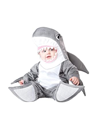 Baby's Silly Shark Costume Image