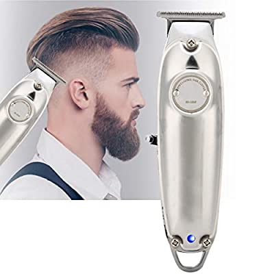Wallfire Hair Trimmer for Men, Professional Electric USB Rechargeable Cordless Hair Clipper Barber Haircut Kit for Family & Salon Use by Wallfire