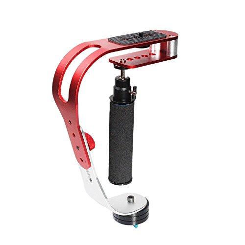 Andoer® Professionale di video Stabilizzatore palmare per Videocamera reflex DSLR Canon Nikon Sony Pentax Digital DV