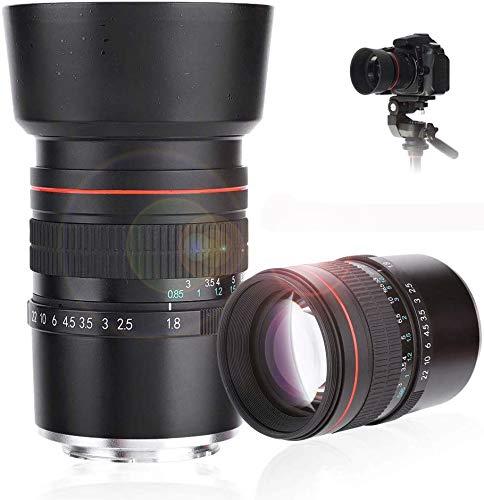 Topiky F1.8 Handmatige focus-objectief, F1.8-F22 groot diafragma middelste spiegelloze tele-camera MF full Frame fixed lens met meerlaagse coating, voor Sony E-mount camera