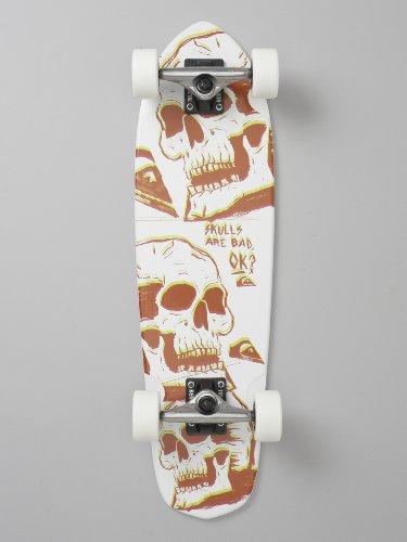 Quicksilver Skulls Skateboard Junior Rouge 66 cm