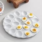 Marguerite Ceramic Egg Tray | Pottery Barn