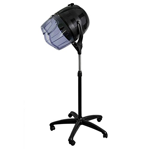 Salon Sundry Professional Bonnet Style Hood 1,000 Watt Salon Hair Dryer - Black