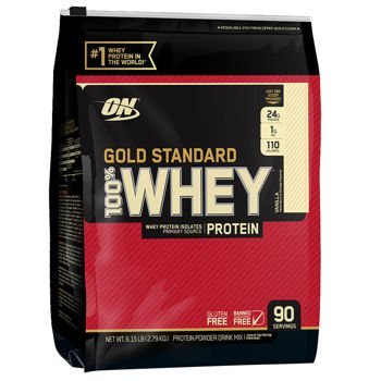 optimum Nutrition Gold Standard 100% Whey Protein, Vanilla. 6LBS by Gold Standard Whey