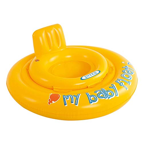Intex- Baby Float Salvagente, Colore Giallo,...