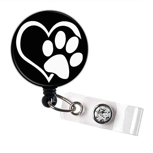 Animal Rescue Super Special SALE held Retractable ID Badge Reel Philadelphia Mall Holder Carabiner