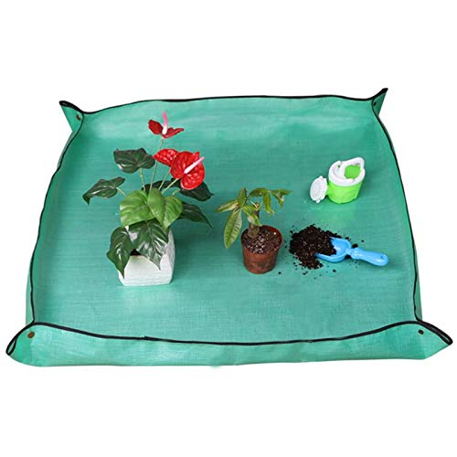 Supertop Umtopfmatte, Gartenmatte, Wasserdichtes Pflanzkissen - Umtopfmatte Für Pflanzen, 3 Größen - Für Innenblumenpflanzen