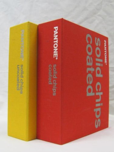 Pantone Coated and Uncoated Solid Chips - Volume 1 and 2