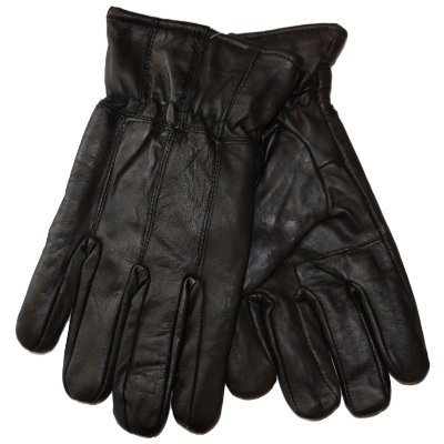 New Mens Thermal Lined Super Soft Fine Leather Warm Winter Dress Gloves...
