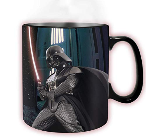 ABYstyle -STAR WARS - taza effecto termico- 460 ml - Darth Vader, ABYMUG294