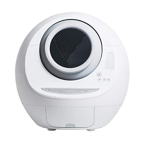 Automatische Katzentoilette Toilettenreiniger Elektro Fully, Enclosed Intelligente Katze Schaufel Maschine Deodoriertes Litter Box Kennel Pet Supplies,Catlitterbox(nonwifi)