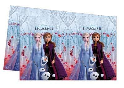 ILS I LOVE SHOPPING Tovaglia di plastica 120x180 cm per Festa Compleanno (Frozen 2, Tovaglia)