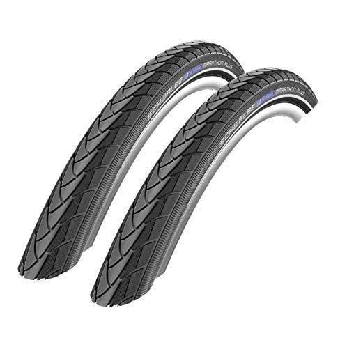 -Schwalbe 2 x Marathon Plus Fahrrad Reifen unplattbar Reflex 32-622