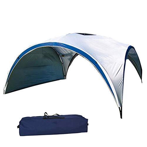 Portable Instant Canopy Tent, Windproof, Uv Resistant, Waterproof Coating, 75D Polyester, Height Can Be Raised And Lowered, Fits River Side, Park, Beach